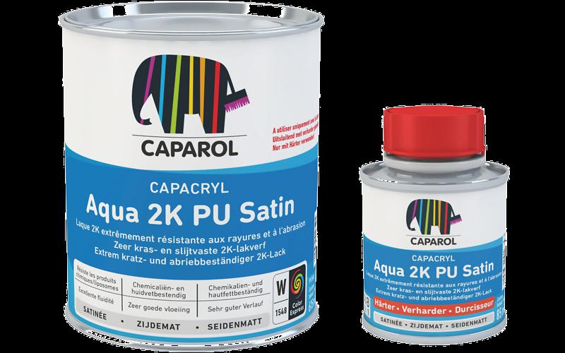 Capacryl Aqua 2K PU Satin: Caparol